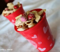 What A Dish!: Valentine's Day Chex Mix