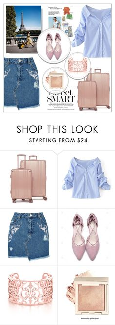 """""""Be fancy and travel the world!"""" by mayabee88 ❤ liked on Polyvore featuring CalPak, WithChic, Miss Selfridge and vintage"""