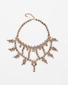 Image 1 of JEWEL NECKLACE from Zara