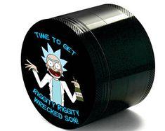 Custom Herb Weed Grinder Rick Inspired Best gift