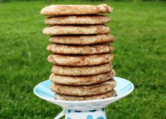 Snickerdoodle cookie tower