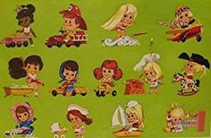 Mattel Little Kiddle back of hangtag graphic