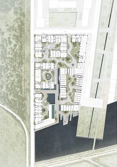 Gallery of Sustainable Startup Beats out BIG, Henning Larsen for a New Eco-Village in Copenhagen - 13 Architecture Portfolio, Architecture Plan, Landscape Architecture, Architecture Diagrams, Pavilion Architecture, Residential Architecture, Contemporary Architecture, Henning Larsen, Urban Analysis