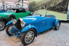 #Bugatti #Type43 #Torpedo #Grand #Sport exposée à la #Cité de l'#Automobile, Collection #Schlumpf, de #Mulhouse. Article original : http://newsdanciennes.com/2015/07/16/on-a-teste-pour-vous-la-collection-schlumpf/ #Cars #Museum #Voiture #Ancienne #Classic
