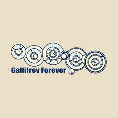 awesome 'Gallifrey Forever in Gallifreyan' design on @TeePublic! #Doctorwho #geek #fandom