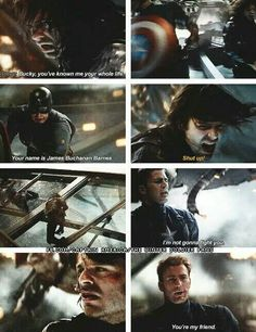 Captain America: The Winter Soldier ~ Steve and Bucky