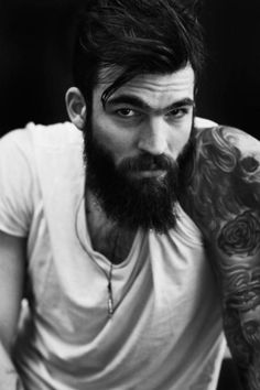 Check out these masculine beard styles for men