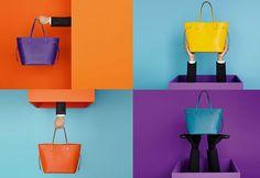 Яркие брендовые сумки