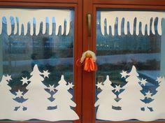 vánoční papírová výzdoba do oken - Hledat Googlem