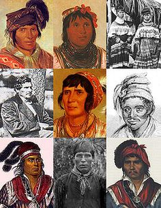 """Seminole: Native American people originally of Florida. Today, most live in Oklahoma, a minority in Florida; Three Federally Recognized Tribes & Independent Groups. The Seminole Nation emerged in process of ethnogenesis out of groups of Native Americans, most significantly Creek from now northern Florida, Georgia, & Alabama; settled in Florida early 18th century. 'Seminole' : corruption of cimarrón, Spanish term for """"runaway"""" or """"wild one."""" http://en.wikipedia.org/wiki/Seminole"""