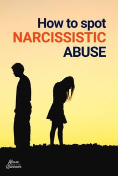 What is Narcissistic Abuse & How to spot it. Some victims' experiences are invalidated because their abuser was not diagnosed with Narcissistic Personality Disorder (NPD); however, anyone can be a narcissistic abuser, with or without a diagnosis. Narcissistic abuse may include emotional, physical, verbal,
