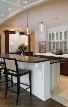1000 images about kitchen island lighting on pinterest Island pendant lighting ideas
