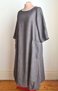 Lily Linen Dress - a-pois