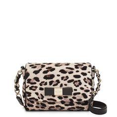 Leopard-print, cross-body perfection via wish list! #fashion #purses #style $495