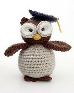 FREE PATTERN ~  Graduation Owl ~