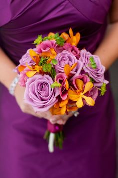 Bridesmaids Bouquet by Exquisite Designs
