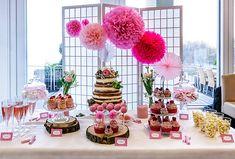 Wedding  Candy Bar Rose Pink Inspiration