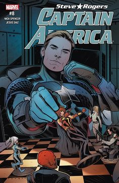 Captain America – Steve Rogers n°8 (28.12.2016) //  The trial of Maria Hill begins here. As Hydra rises, S.H.I.E.L.D. collapses from within.  #captain #america #steve #rogers #marvel #comics