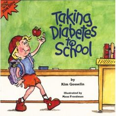 This color illustrated book for elementary age children contains an instructive story of a grade-schooler with #diabetes who tells his classmates about the disease and how he manages it. The story offers sensitive insight into the day-to-day school life of a child with a chronic illness. Includes Ten Tips for Teachers