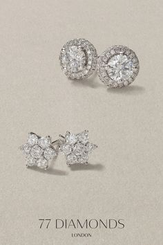 |Diamond Studs with up to 15% off| Is it your anniversary or her birthday? These designer studs will definitely put a big smile on her face 😀Handcrafted in the metal of your choice: Platinum, White Gold, Rose Gold or Yellow Gold!   #blackfridaysale #blackfriday #sale #blackfriday2019 #diamondearrings #giftideas #christmasgifts #jewelry #my77diamonds Diamond Jewellery, Diamond Studs, Diamond Earrings, Stud Earrings, 77 Diamonds, Black Friday 2019, Designer Earrings, Gift Guide, White Gold
