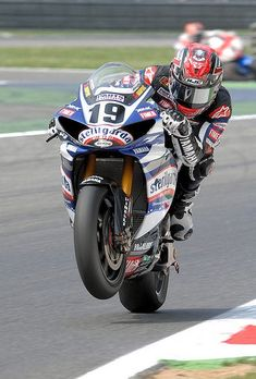 Ben Spies - 2009 world superbike champ for Yamaha