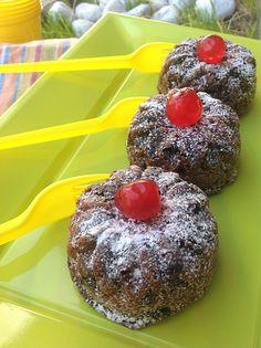 Tortine+con+amaretti+e+gocce+di+cioccolato