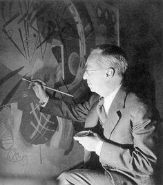"""Everything starts from a dot."" Wassily Kandinsky"