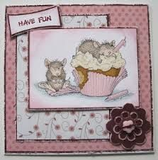 Dina Kowal: Mama Dini's Stamperia: Ice cream...? for me...? - 8/11 on house mouse design time, house cleaning services business cards, house mouse christmas,