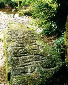 King Arthur's Stone, Slaughter Bridge, Tintagel and Camelford, Cornwall, England (c.5 A.D.) The village of Slaughter Bridge is thought to be the location of Camlann, the site of Arthur's final battle, according to Geoffrey of Monmouth.