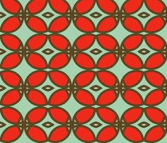 century_butterfly_brown fabric by holli_zollinger on Spoonflower - custom fabric