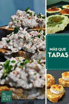 tapas Easy Cooking, Healthy Cooking, Fast Healthy Meals, Healthy Recipes, Tapas Recipes, Spanish Tapas, Canapes, Savoury Dishes, Diet And Nutrition