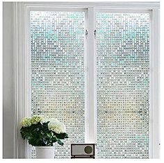 Bloss Privacy Stained Glass Window Film Home/Bedroom/Bath... Https: