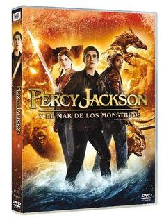 DVD: Percy Jackson y el mar de los monstruos