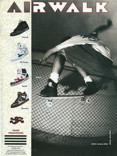 Airwalk Klein Ad, 1990, via Flickr.