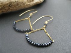 Hey, I found this really awesome Etsy listing at https://www.etsy.com/listing/152311212/gemstone-earrings-black-spinel-earrings