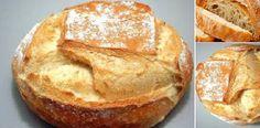 Pan casero fácil y rápido (con harina común) Si te gusta dinos HOLA y dale a Me Gusta MIREN… | Receitas Soberanas Nutrition Guide, Scones, Food And Drink, Baking, Ethnic Recipes, Italian Bread, Gastronomia, Homemade French Bread, Bakery Recipes