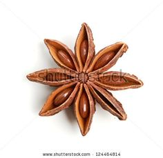 stock photo : Star anise isolated on white background