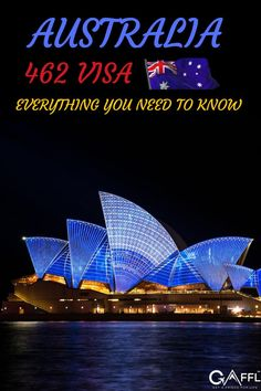 The 462 visa in Australia is a subclass of the working holiday visa. This particular subclass is also known as the work and holiday visa. The work and holiday visa is a residence permit that lets you be employed in Australia as a way of funding your travels. This is the best visa for anyone backpacking in Australia because you're eligible to stay in the country for 12 months from the date your working holiday visa is granted. Working Holiday Visa, Working Holidays, Australia Travel Guide, Need To Know, Backpacking, Places To See, Everything, Travel Tips, Things To Do