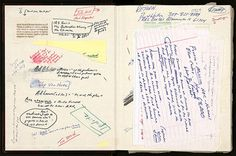Peek Inside of David Foster Wallace's 'Pale King' Notebook