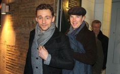 Benedict Cumberbatch & Tom Hiddleston << I need to be invited to this party.