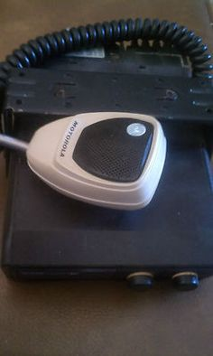 vintage Motorola 2 way radio, mobile/car unit.  Under dash or in glove box for installation.