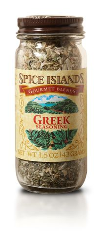At Spice Islands we craft and package our spices to deliver the most authentic and intense flavor possible. Greek Seasoning, Poultry Seasoning, Seasoning Mixes, Greek Spices, Lemon Pepper Seasoning, Herb Recipes, Homemade Seasonings, Spices And Herbs, Spice Mixes