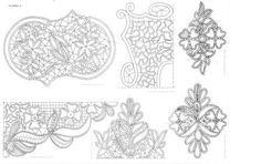 romanian point lace patterns - Поиск в Google