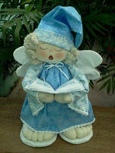 By D Pano...Anjo cantor de Natal