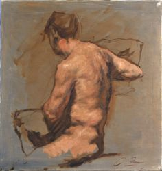 (blog-Underpaintings), figure by Robert Liberace