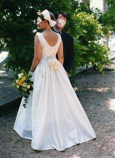 Robe de mariée soie sauvage + dentelle de Calais - robes mariée occasion originales pas cher - Annonces gratuites de robes de mariée pas che...