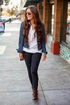 Vanessa Balli: Simple Fall Look