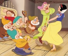 "Disney For You: The Seven Dwarfs Of The Famous Epic ""Snow White & The Seven Dwarfs"""