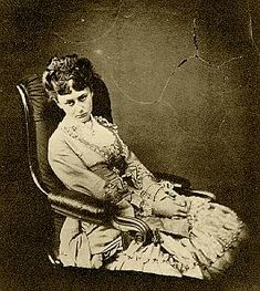 Dodgson's last photo of Alice Liddell as a young woman. To me she doesn't look just sad, but like she's resisting something she knows she can't.