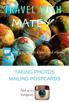 Around the world with an iPad.... Matey is currently posting from: HONG KONG......Take a look